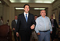 Συνάντηση ΑΝΥΠΕΞ κ. Δ. Δρούτσα με Αντιπρόεδρο της Αλβανικής Κυβέρνησης και ΥΠΕΞ κ. Ι. Μέτα (4859959848).jpg