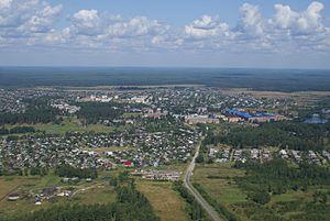 Yuzhsky District - View of Yuzhu, Yuzhsky District