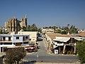 Вид на мечеть Лалы Мустафы Паши со стены венецианской крепости - panoramio.jpg