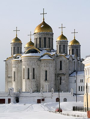 Vsevolod IV of Kiev - Assumption Cathedral in Vladimir