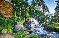 Водоспад та руїни в парку Олександрія.jpg