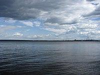 Воткинское водохранилище - верхний бьеф.JPG