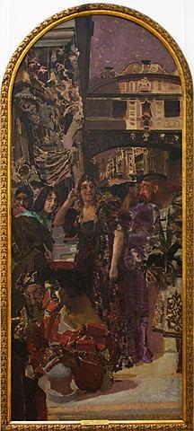 Венеция. 1893, панно