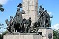 Замкова (Богданова) гора монумент люди.jpg