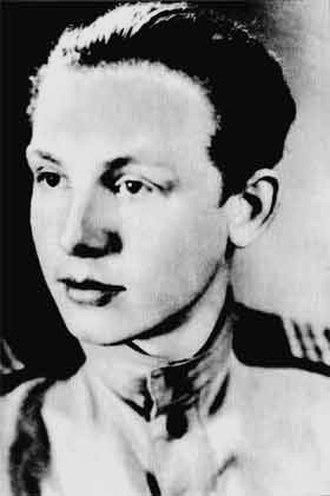 Innokenty Smoktunovsky - Smoktunovsky in 1943