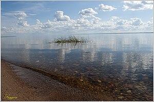 Lake Kubenskoye - Image: Кубенское озеро