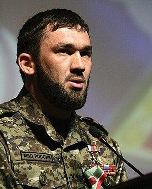 Magomed Daudov - Daudov in uniform of the police colonel.