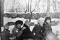СССР, 1987, Ростов-на-Дону, Зима, санки, Буденновский спуск.jpg