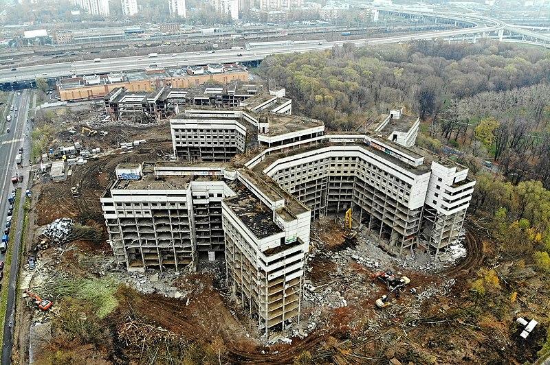 Заброшенные места СССР Ховринская больница