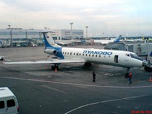Pulkovo Aviation Enterprise - Pulkovo Tu-134A (Domodedovo Airport)