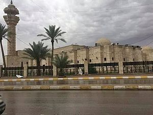First Battle of Tikrit - The University of Tikrit, where the battle began