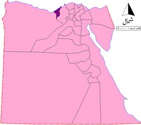 الموقع في مصر