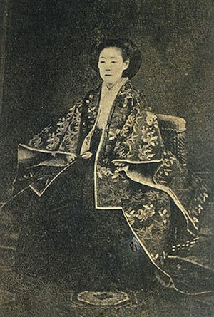 Tokugawa Iemochi - Kazu-no-miya, Iemochi's wife