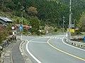 国道168号 西吉野町永谷にてバス停周辺 Eitani 2012.4.25 - panoramio.jpg