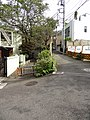 左が三田用水、鉢山分水路の跡 - panoramio.jpg