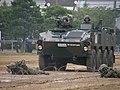 第15普通科連隊第2中隊に配備された96式装輪装甲車.JPG