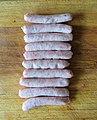 -2020-07-01 Pork chipolata sasages, Trimingham, Norfolk.JPG