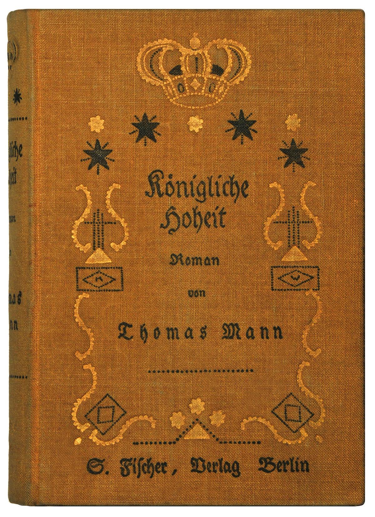 50b051f6f2 Királyi fenség (Thomas Mann) – Wikipédia