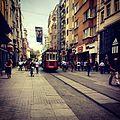 -istanbul -taksim -istiklal -turkey -tourism -train -beyoglu (14306304962).jpg