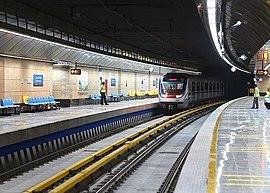 02 Тегеран, линия метро 3 4.jpg