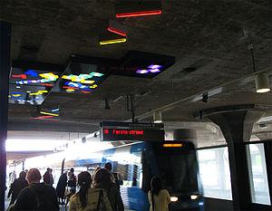 Gullmarsplan metro station - Gullmarsplan metro station
