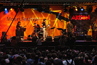 Moers Festival - On stage (2004, Ned Rothenberg Double Band)