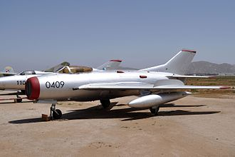 March Field Air Museum - MiG-19 on display
