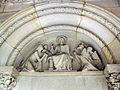 070 Panteó Amatller, timpà neo-romànic d'Eusebi Arnau.jpg