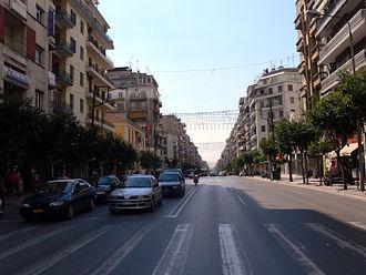 Egnatia Street, Thessaloniki - Egnatia/Iasonidou Junction