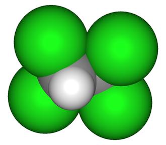 1,1,2,2-Tetrachloroethane - Image: 1,1,2,2 tetrachloroethane 3D2