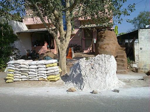 1-chalk powder making