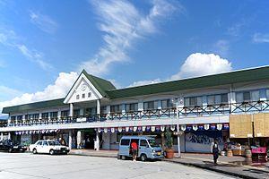 Hakuba Station - Hakuba Station in August 2010