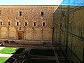 112 Sant Miquel dels Reis (València), pati nord, restes del claustre inacabat.jpg