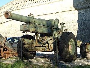 Obice da 149/19 modello 37 - An Obice da 149/19 modello 37, taken outside Forte di San Leo