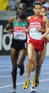 Nancy Langat Kenyan middle-distance runner