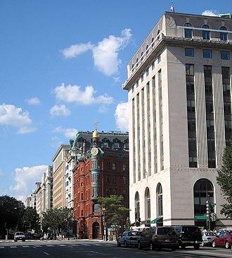Fifteenth Street Financial Historic District - Image: 15th Street Financial District