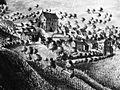 1725 ca Beuel Burg Limperich Wohnturm Wirtschaftshof.jpg