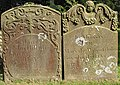 18th Century gravestones, St. Mary's churchyard, Foy - geograph.org.uk - 558195.jpg