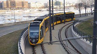 Trams in Budapest tram system