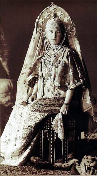 Princess Maria of Greece and Denmark - Maria in costume for a 1903 ball