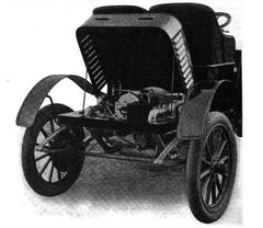 1906 Lambert runabout rear