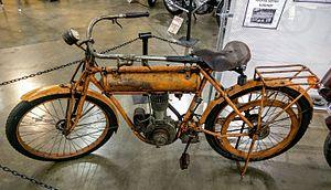 Flying Merkel - 1912 Flying Merkel Model W-S, on display at the California Automobile Museum