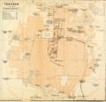 1914 Tehran map byBaedeker.png