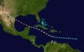 1916 Atlantic hurricane 6 track.png