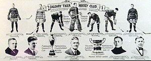 Calgary Tigers - Image: 1926 27 Calgary Tigers