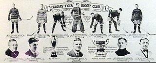 Calgary Tigers Ice hockey team