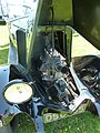 1926 Renault engine, front, Cophill Farm vintage rally 2012.jpg