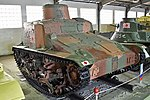 1937 Ho-Gi Rail Mounted Flamethrower Tank – Kubinka Tank Museum (37931819061).jpg