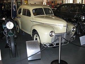 Jean-Albert Grégoire - The 1948 prototype of the Hartnett was designed by Grégoire