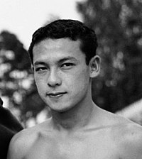 1952-swimming-medalists (cropped - Ford Konno).jpg
